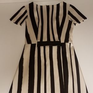 Black and White Topshop Dress